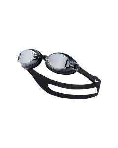 Unisex Chrome Mirror Training Goggle in Black