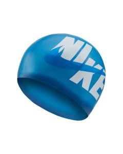 NIKE Unisex Logo Silicone Training Cap in Deep Royal Blue