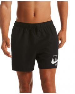 "NIKE Men's Logo Lap 5"" Volley Short features in Black"