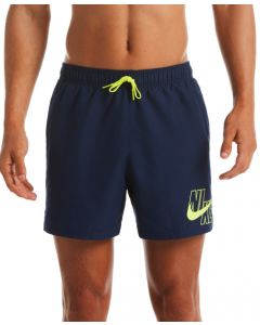 "NIKE Men's Logo Lap 5"" Volley Short features in Midnight Navy"