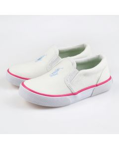 POLO RALPH LAUREN Bal Harbour Repeat Toddler Sneakers in White