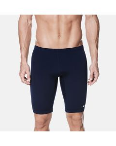 NIKE Swim Men's Poly Solid Jammer in Midnight Navy