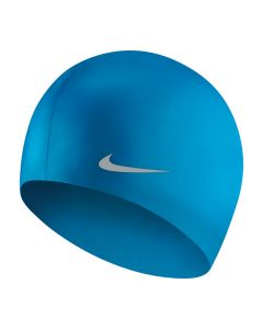 NIKE Unisex Youth Solid Silicone Training Cap in Photo Blue