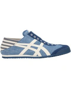 ONITSUKA TIGER Mexico 66 Paraty Unisex Shoe in Blue Chambray/Natural