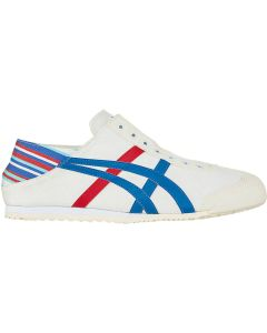 ONITSUKA TIGER Mexico 66 Paraty Unisex Shoe in White/Classic Blue