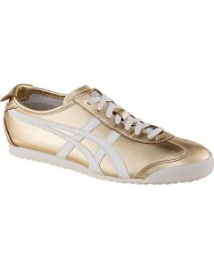 ONITSUKA TIGER Mexico 66 Unisex Shoe in Gold/White