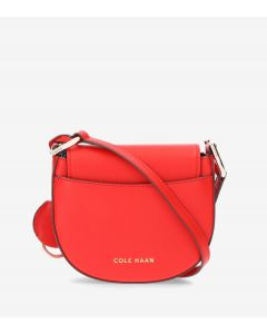 COLE HAAN Grand Ambition Women's Mini Crossbody in Flame Scarlet