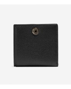 COLE HAAN GRANDSERIES Women's Medium Wallet in Black