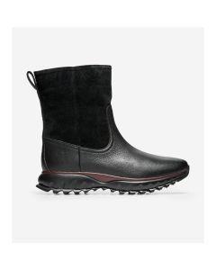 COLE HAAN ZERØGRAND XC Women's Pull-On Boot in Black Suede