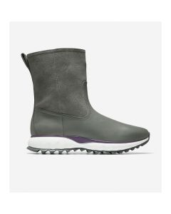 COLE HAAN ZERØGRAND XC Women's Pull-On Boot in Quiet Shade Suede