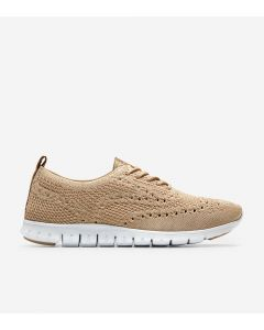COLE HAAN ZERØGRAND Women's Wingtip Oxford in Safari Metallic Stitchlite™