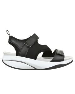 MBT AZA Women's Casual Sandals in Black
