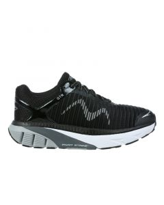 MBT GTR Women's Lace Up Running Shoe in Black