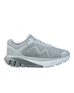 MBT GTR Women's Lace Up Running Shoe in Light Grey