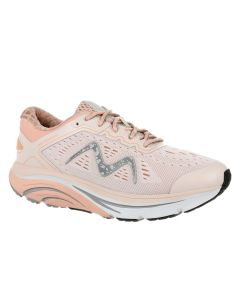 MBT M-2000 Lace Up Women's Running Shoe in Sand/Coral