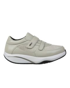 MBT PATIA 6S Women's Casual Strap Shoe in Taupe