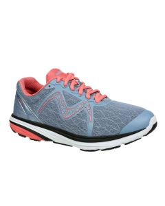 MBT SPEED 2 Women's Lace Up Running Shoe in Grey Peach