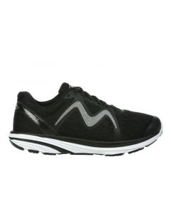 MBT SPEED 2 Women's Lace Up Running Shoe in Black Grey