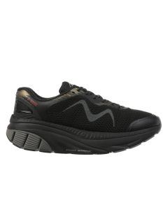 MBT Z 360 Women's Lace Up Running Shoe in Black