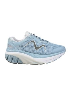 MBT Z 360 Women's Lace Up Running Shoe in Light Blue