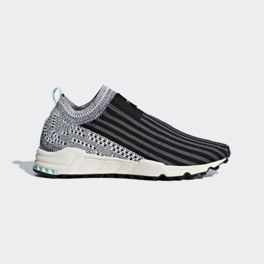 ADIDAS ORIGINALS EQT Support Sock Primeknit Women's Shoes in Core Black